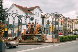 Kurschattenbrunnen in Bad Wildungen